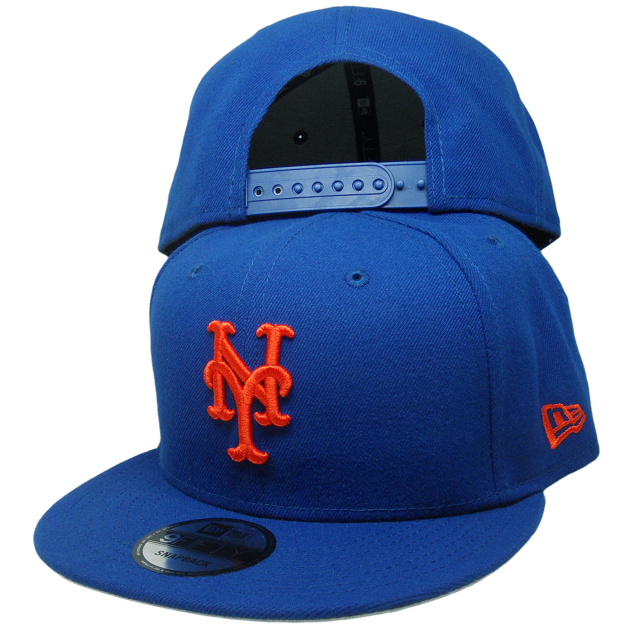 the latest 6ea9d e8fdf New York Mets New Era 9Fifty MLB Basic Snapback - Royal, Orange -  ECapsUnlimited.com