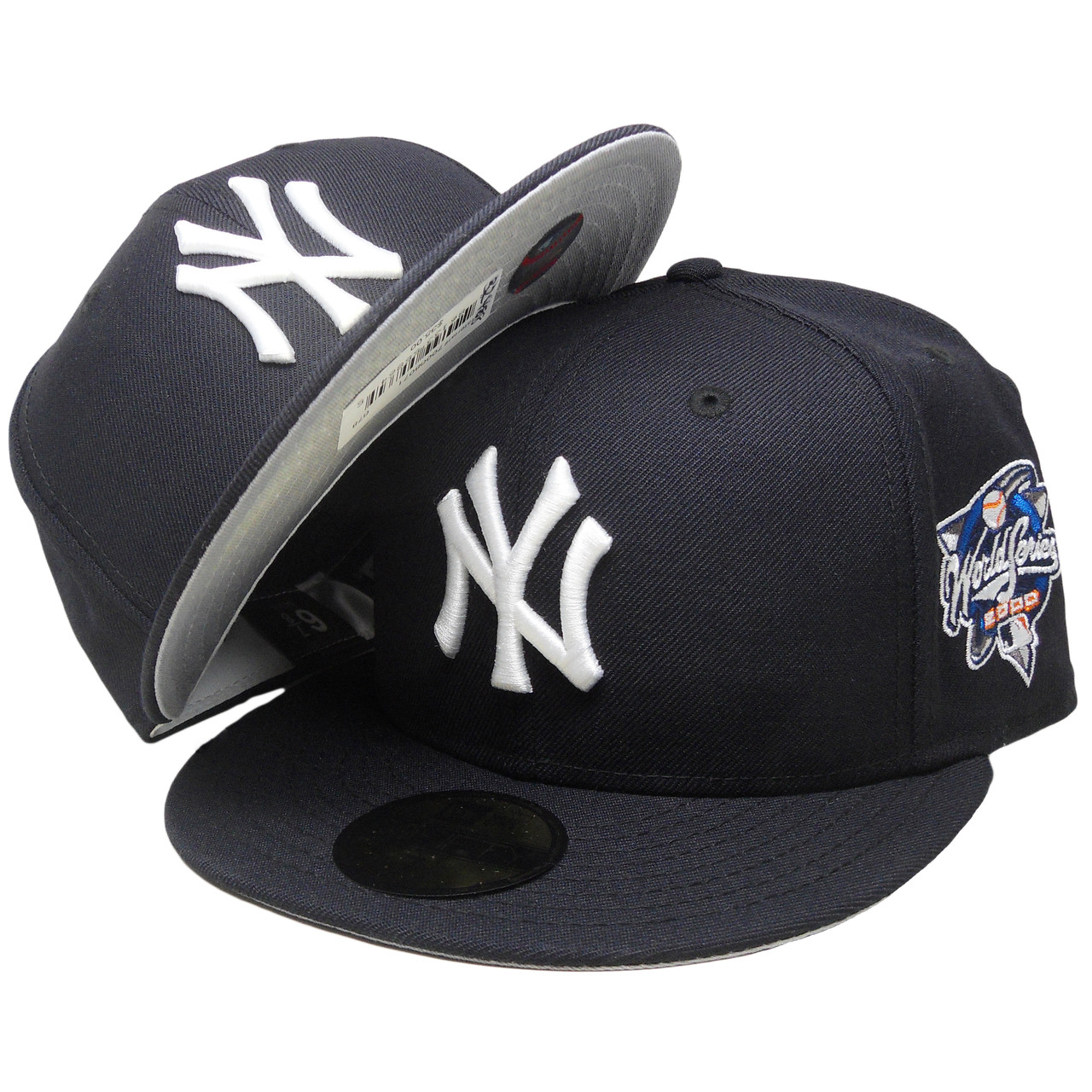 finest selection 4e144 92093 New York Yankees New Era Custom 2000 WS 59Fifty Fitted - Navy, White, Royal