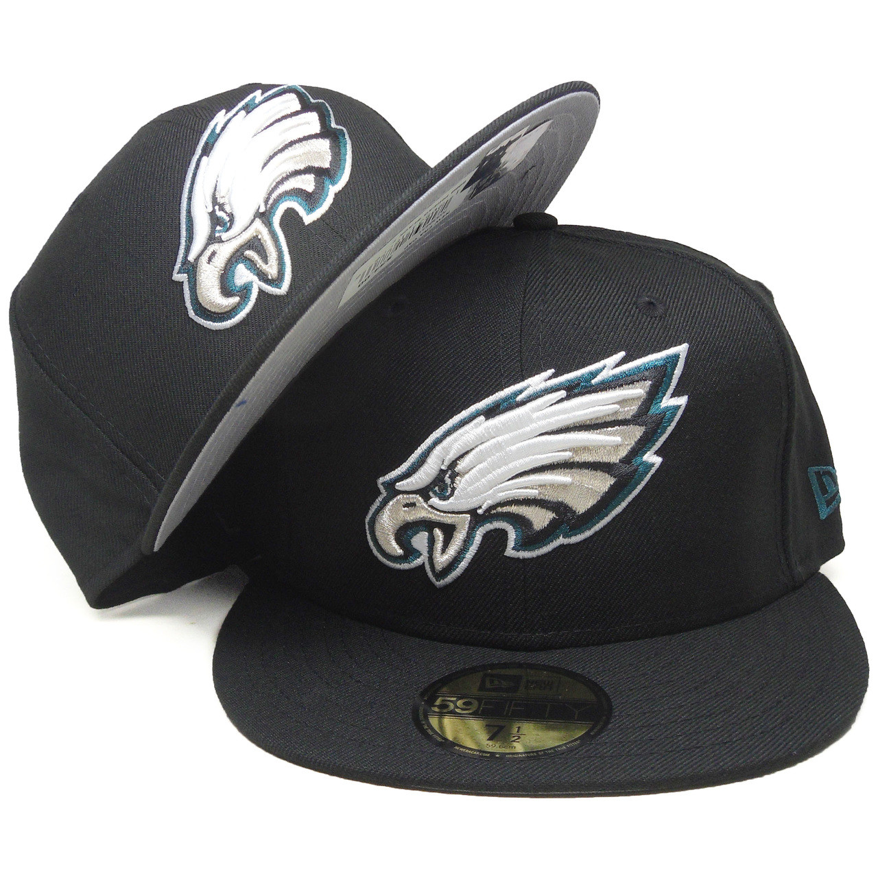 NEW Era 59 fifty fitted cap-Grey II Philadelphia Eagles