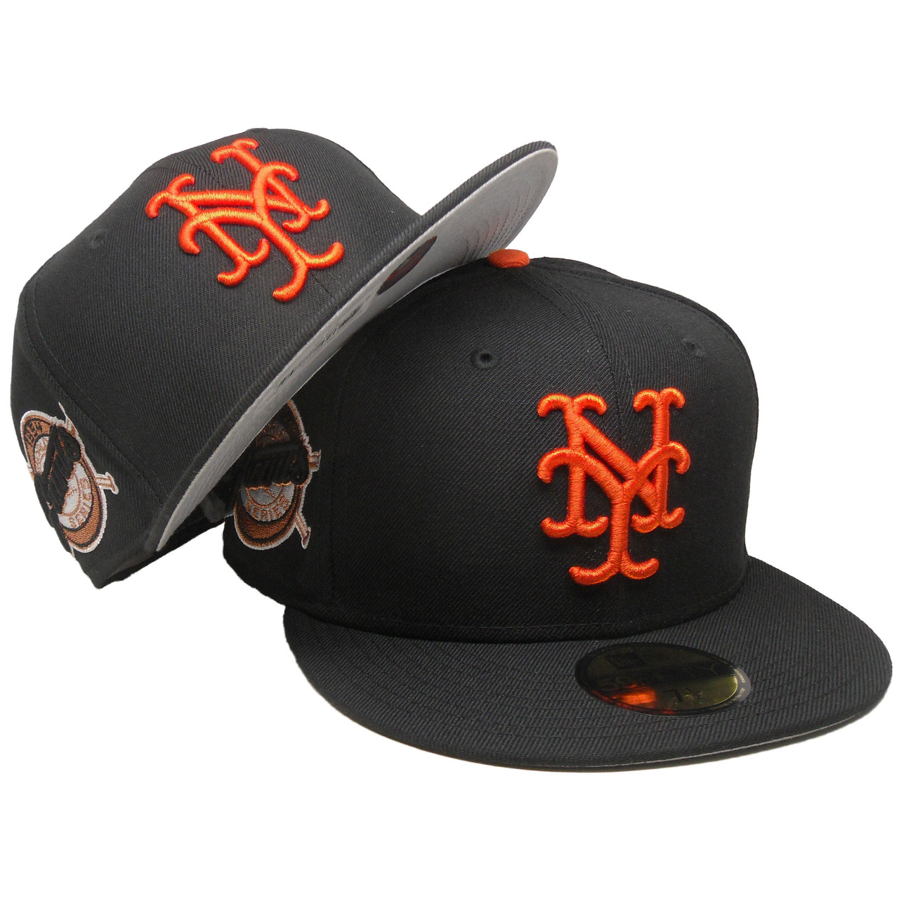 0ebd5e619398e0 New York Giants 54 WS New Era Custom 59Fifty Fitted - Black, Orange, Copper