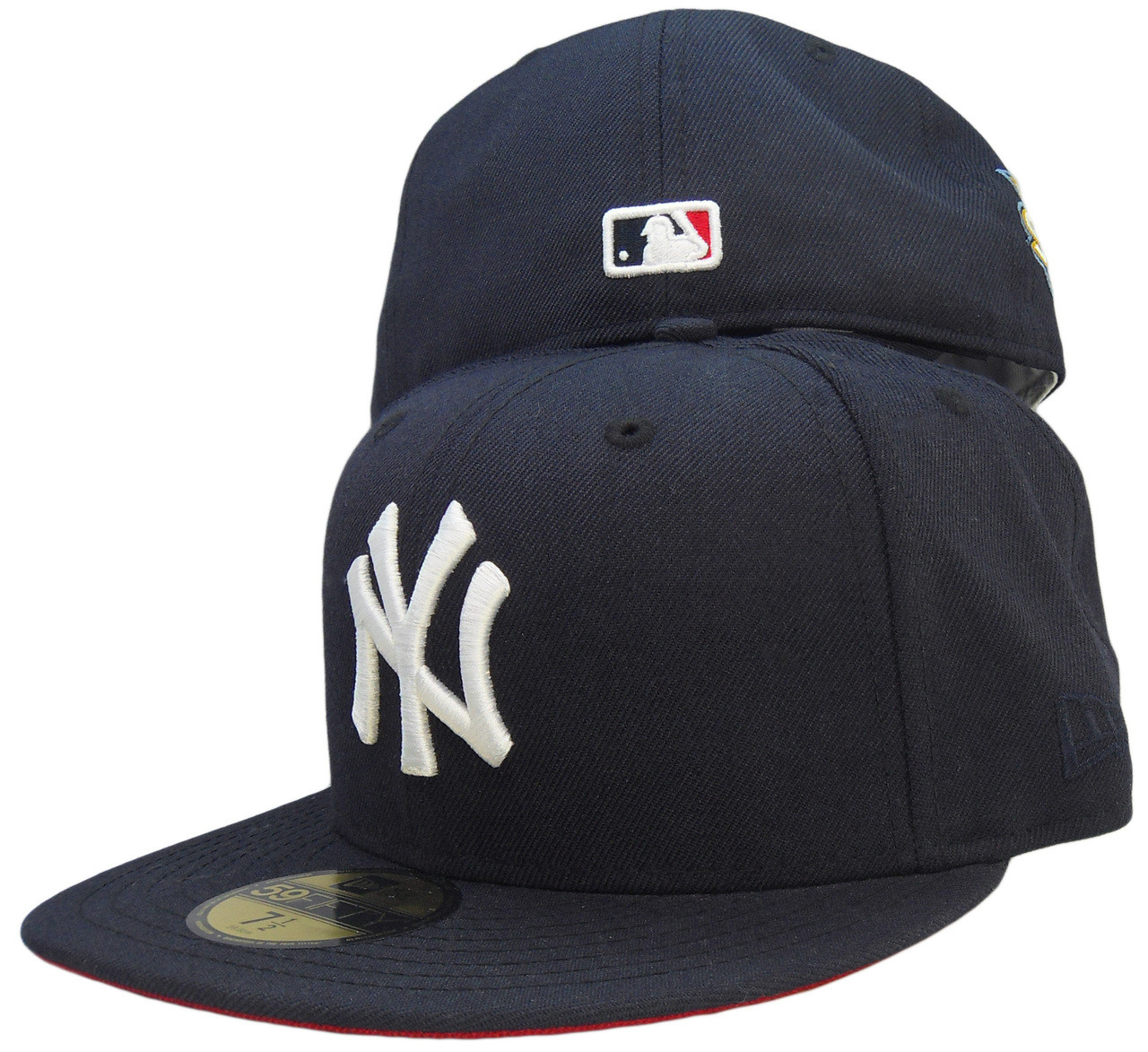 9385866a New York Yankees New Era 59Fifty Fitted Hat - Navy Blue, White, Red -  ECapsUnlimited.com