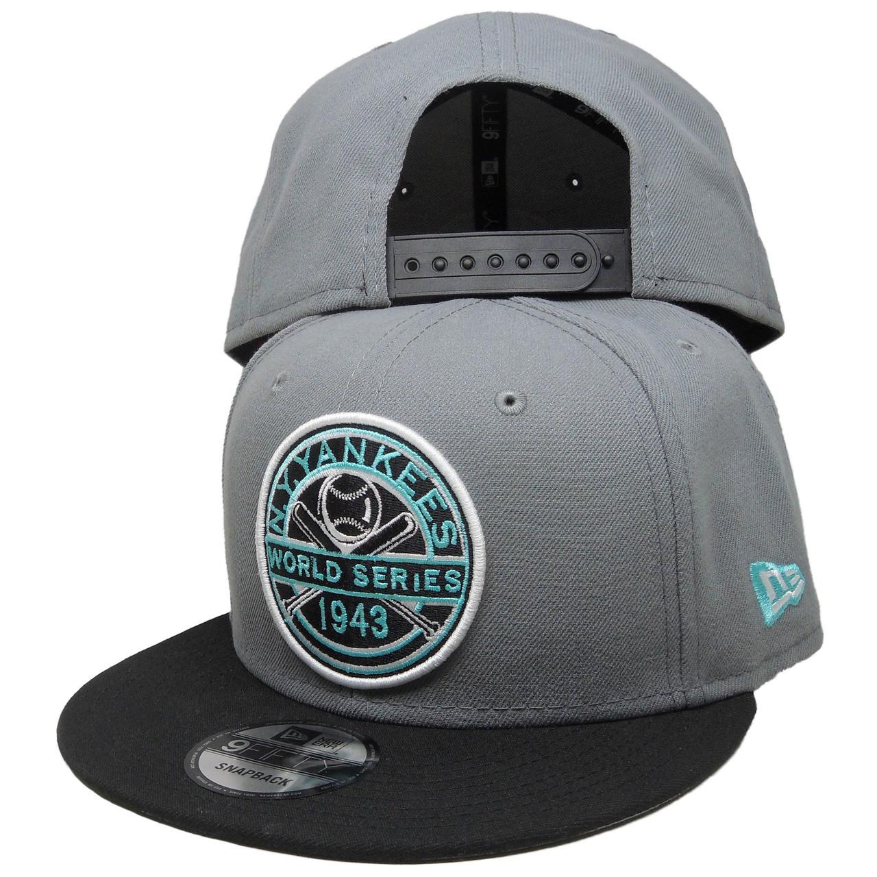 gorące nowe produkty duża zniżka Cena obniżona New York Yankees New Era Custom 43 WS 9Fifty Snapback - Gray, Black, Mint  Green
