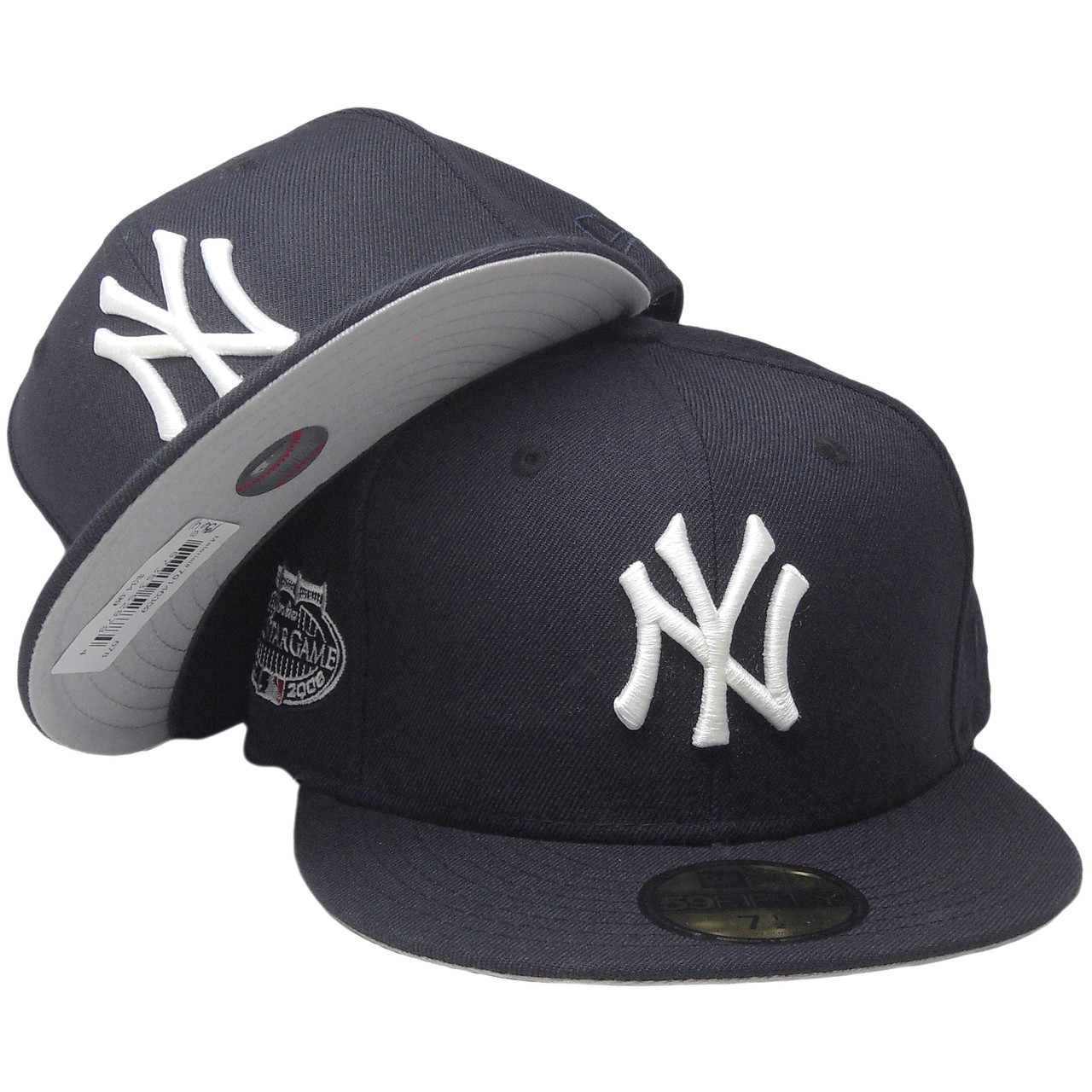 d9aa6eee New York Yankees New Era All Star Game 2008 Fitted Hat - Navy Blue, White -  ECapsUnlimited.com