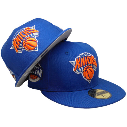 new arrivals 81880 81765 ... New York Knicks Wool Standard 2 59Fifty Fitted Hat - Royal, Orange,  White ...