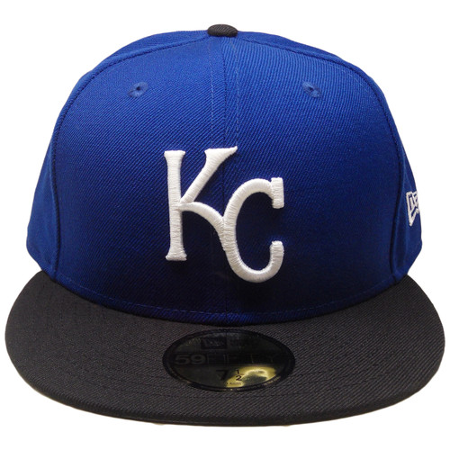 81f8d29c Kansas City Royals Custom New Era 59Fifty Fitted - Royal, Black, White ...