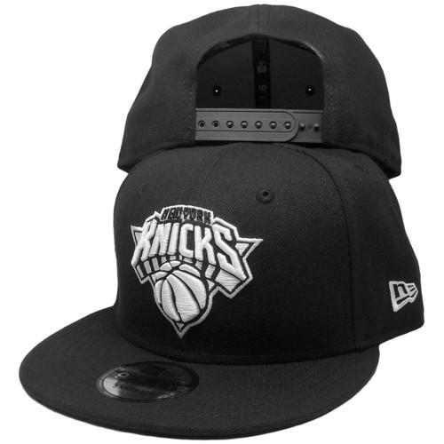 sports shoes 81ee8 d7d17 New York Knicks New Era Basic 9Fifty Snapback - Black, White