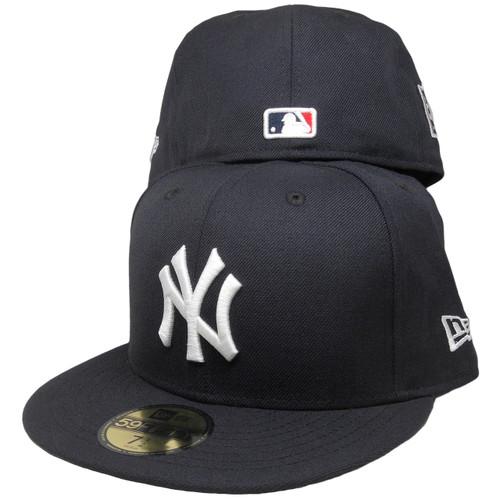 aa663f84bc9fed New York Yankees New Era Custom Stadium Patch Fitted - Navy, White, Gray ...