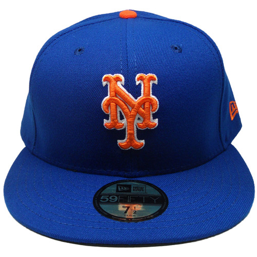 sneakers for cheap de8a5 1b8f1 ... New York Mets New Era 59Fifty 2018 Onfield Fitted Hat - Royal, Orange,  White