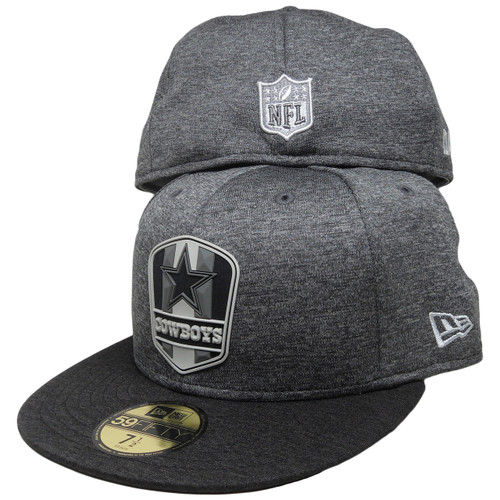 d3fe99c36a886f Dallas Cowboys New Era NFL2018 59Fifty Fitted Hat - Dark Gray, Black, Gray  ...