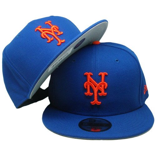 huge discount 892b3 b3471 ... New York Mets New Era 9Fifty MLB Basic Snapback - Royal, Orange ...