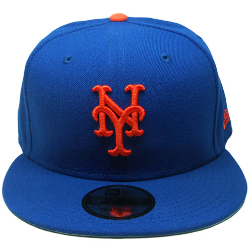 new concept 50628 c0e74 ... New York Mets New Era 9Fifty MLB Basic Snapback - Royal, Orange