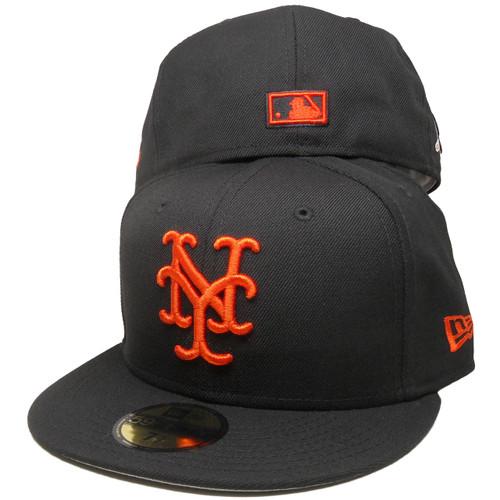 ceb2071cee9474 New York Giants 54 WS New Era Custom 59Fifty Fitted - Black, Orange, Copper  ...