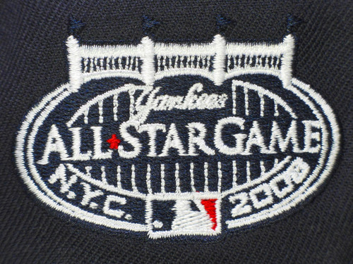 c98d2281 ... New York Yankees New Era All Star Game 2008 Fitted Hat - Navy Blue,  White ...