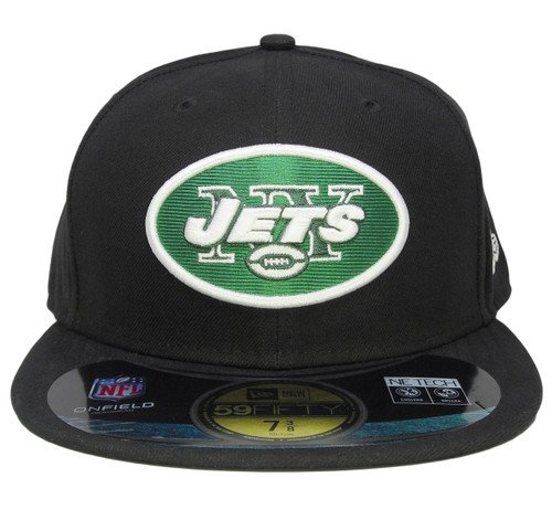 0ea48c30836119 ... New York Jets New Era 59Fifty Onfield Fitted Hat - Black, Hunter Green  ...