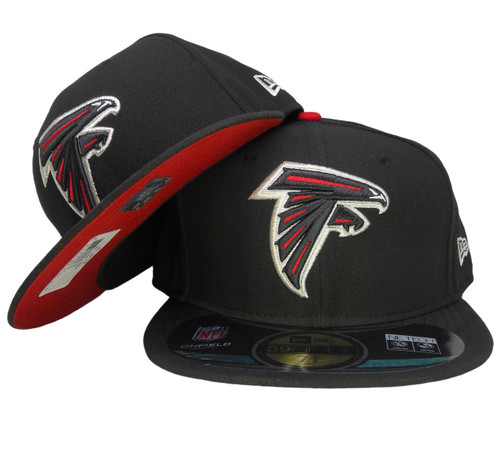 6bca0add Atlanta Falcons New Era Onfield Game Fitted Hat - Black, Red, Silver, White
