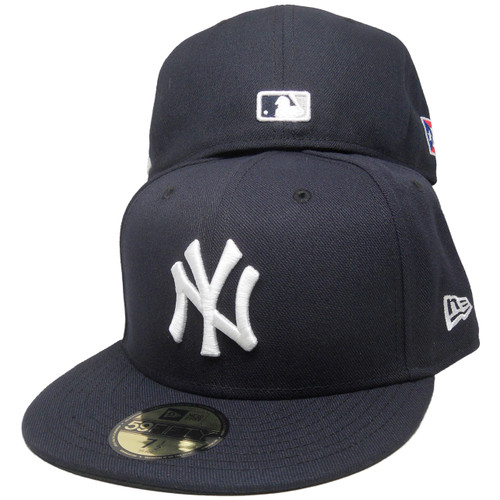 e2a3025d3529b0 New York Yankees New Era 59Fifty Custom PR Flag Fitted Hat - Navy, White ...