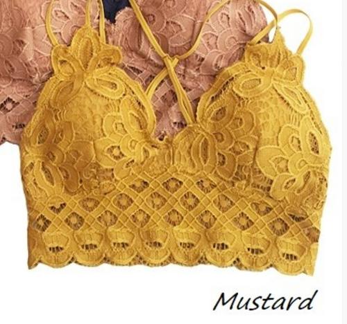 Crochet Lace Bralettes