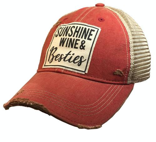 Sunshine, Wine & Besties Hat