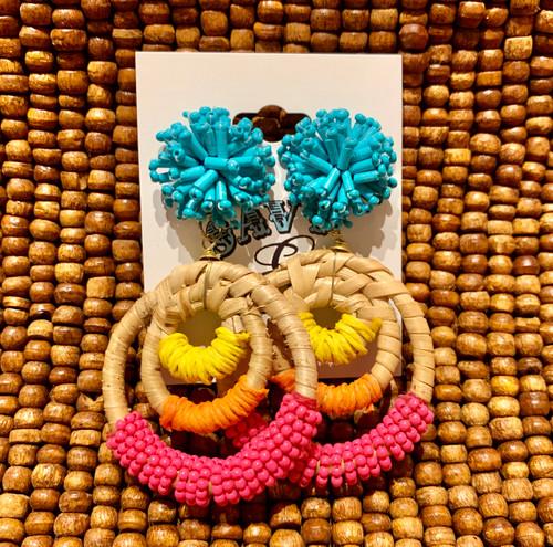 Delphine Tropical Earrings