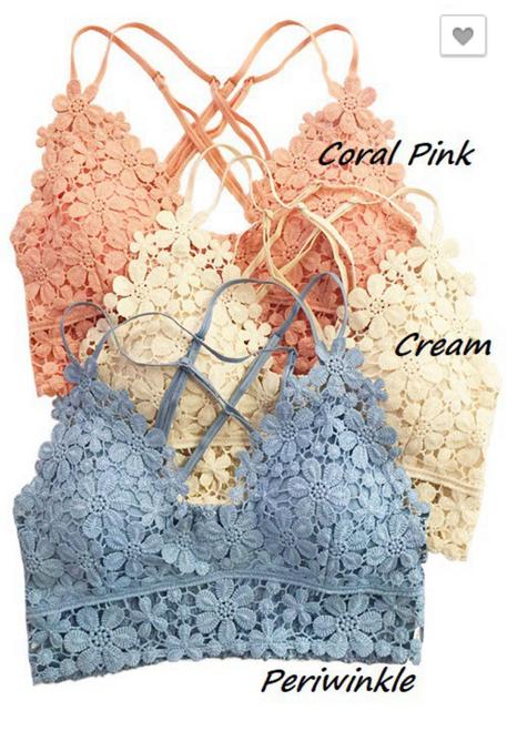 Floral Lace Bralette