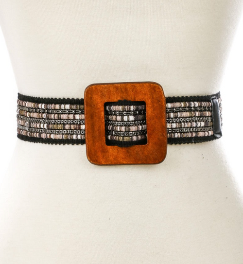 Boho Tribal Braid Belt