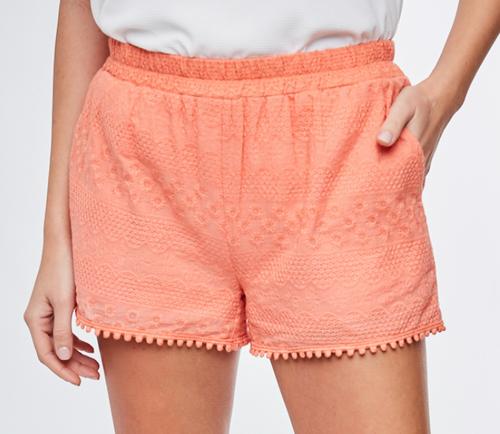 Eyelet Lace Shorts