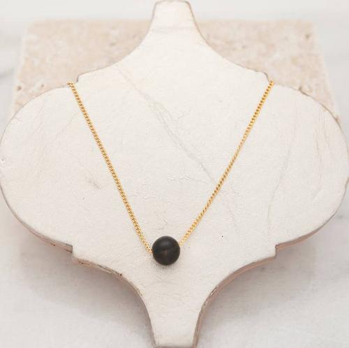 Stone + Stick Tiny Bubble Necklace
