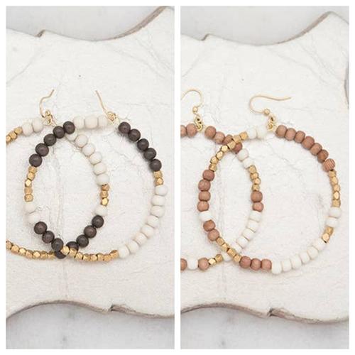 Stone + Stick Hopscotch Earrings