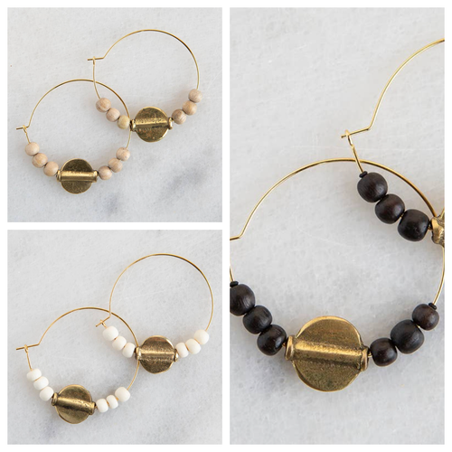 Stone + Stick Ember Earrings