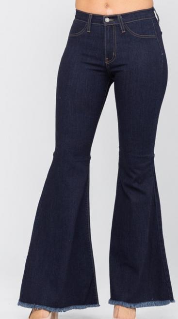 Judy Blue High Waist Super Flared Jeans