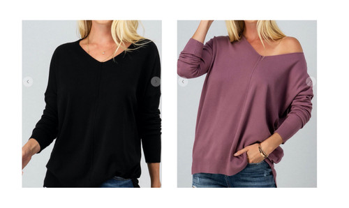 High/Low Tunic Sweater