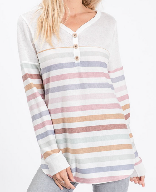 Betsy Striped Top