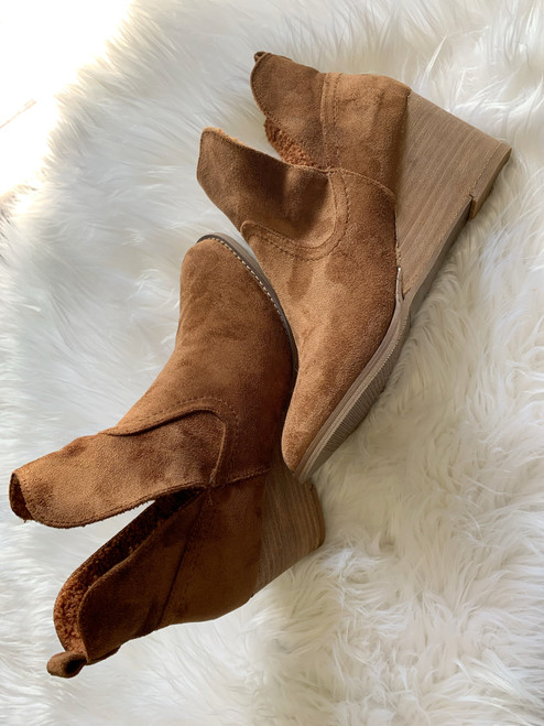 Erika Tan Booties By Very G