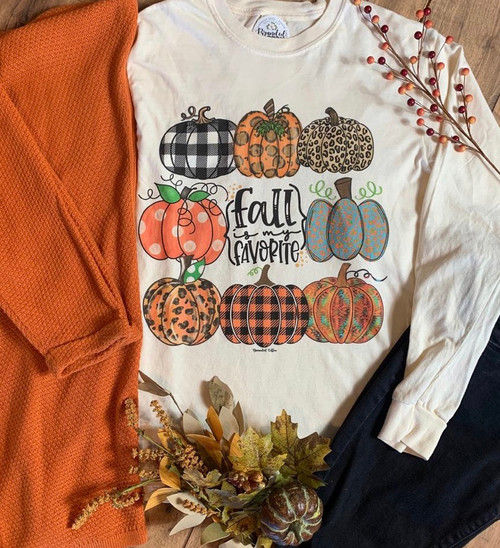 Fall Is My Fall Graphic Tee