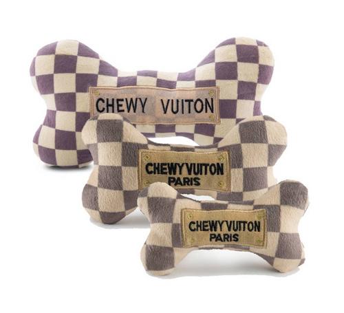 Checker Chewy Vuiton Bone
