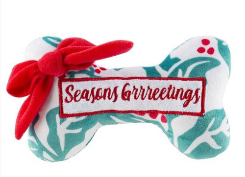Seasons Greetings Puppermint Bone