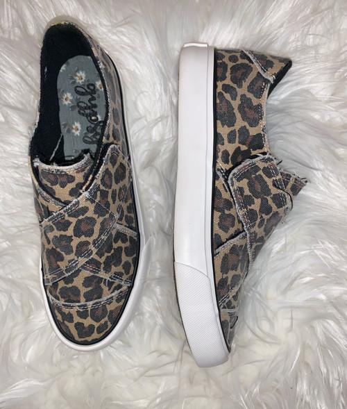 Ivette Leopard Slip On Sneaker