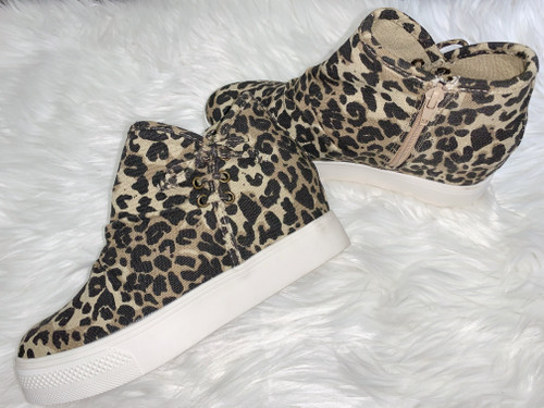 Angela Leopard Bootie by Very G