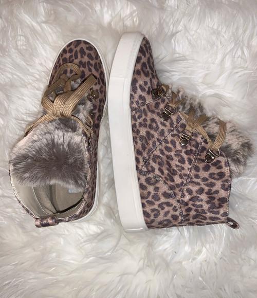 Shayne Leopard Bootie