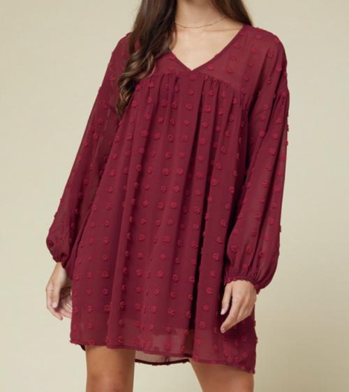 Scarlet Babydoll Dress