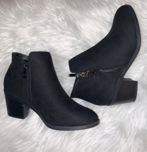 Zandra Black Bootie