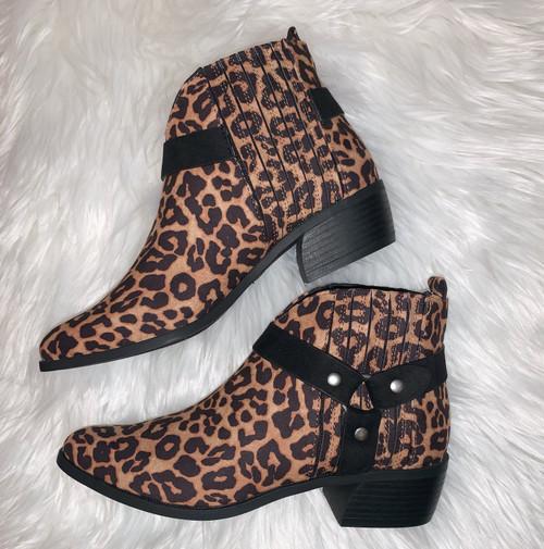 Raelynn Leopard Booties