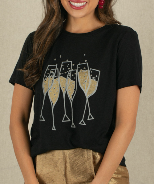 Promise Champagne Graphic Tee