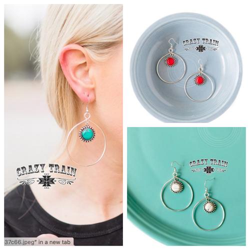 Bear Creek Earrings by Crazy Train
