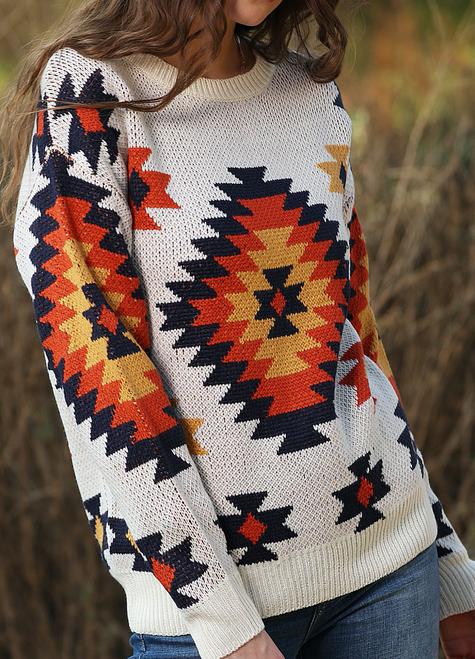 Alina Aztec Sweater