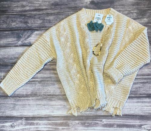 Cora Chunky Knit Sweater
