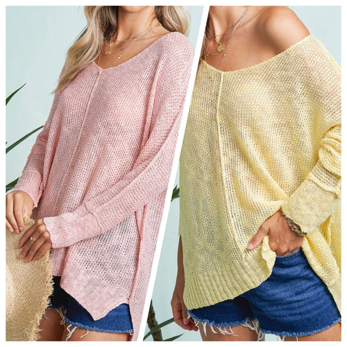 April V Neck Sweater