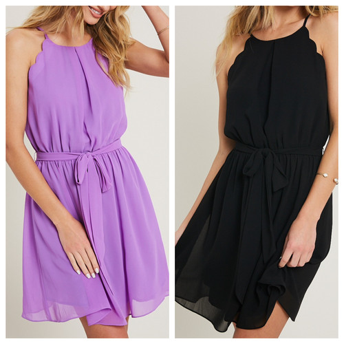 Molly Halter Mini Dress