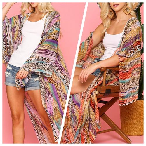 Arabella Maxi Kimono