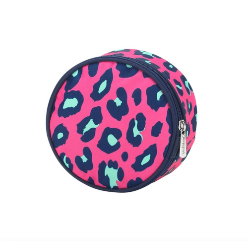 Pink Leopard Jewelry Case